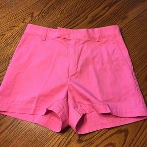 Pink Ralph Lauren shorts